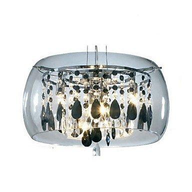 Moderne Kronleuchter Deckenleuchten Anhänger Max 40W Modern Zeitgenössisch Barrel Galvanik Kronleuchter Kristall Mini Stylus Lampen Wohnen Schlafzimmer Esszimmer 3C Ce Fcc Rohs für Wohnzimmer Schlafz -