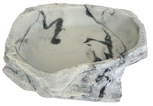 Lucky Reptile WDG-4 Water Dish Granit, Wassernapf oder Futternapf für Terrarien, groß