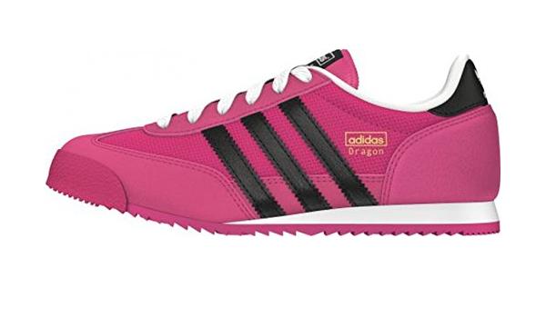 adidas Dragon, Baskets Basses Mixte Enfant, Rose-Pink (Bold Pink ...