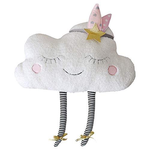LAAT Cojín Almohada de Sofá Forma de la Nube Muñeca Cushion...