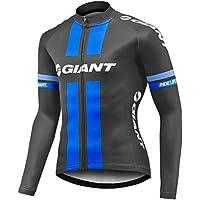 Sports Thriller Rider XiXiMei EU RG22 Bicicleta de Montaña Invierno Térmico Cálido Ciclo Maillot para Hombre Chaqueta de Ciclismo Medium