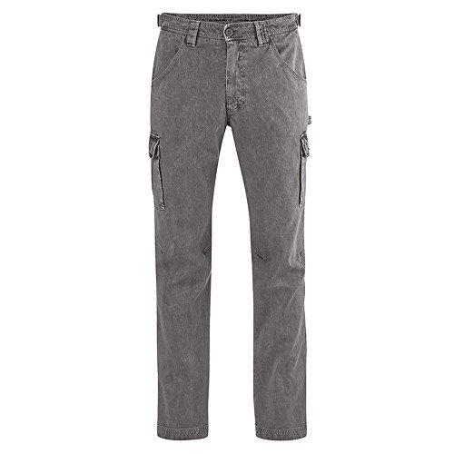 HempAge Herren Cargo-Hose Hanf/Bio-Baumwolle Asphalt XL - Hanf Hosen Für Männer