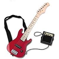 Delson STARSINGER Pack guitare électrique enfant rouge