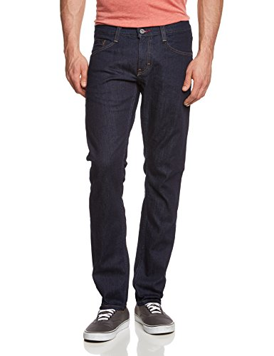 MUSTANG Herren Tapered Jeans Oregon Blau (rinse washed 590)