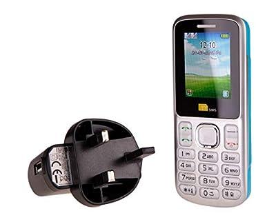 TTsims - Dual Sim TT130 Mobile Phone - 1.3MP Camera - Bluetooth - Torch Function - Radio - MP3 MP4 - Memory Card Slot - Cheapest Twin 2 Sim Phone - Pay As You Go