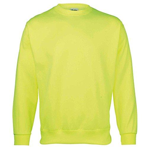 AWDis - Sweat-shirt - Moderne - Femme Jaune électrique