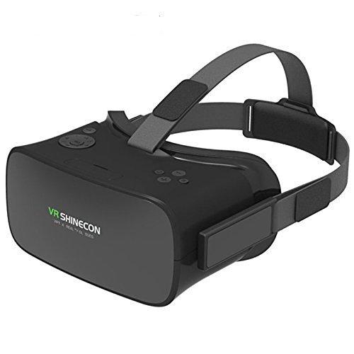 olayer VR 3D Brille mit Theater 5Zoll Bildschirm 1280* 720Auflösung Display Head-mounted 8GB VR Headset mit WiFi