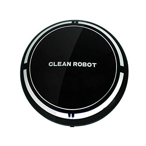 Robot aspirador, robot de barrido inteligente con carga USB, succión fuerte, diseño delgado, aspirador...