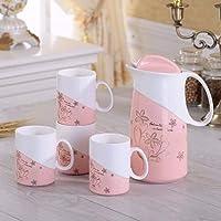 Conjunto Taza de Agua del hogar de cerámica Taza de Agua Sala Creativa Utensilios Taza Agua