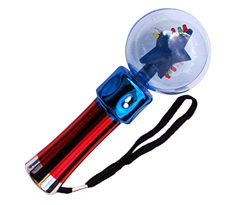 ERRO Magic Twister - Lichtrotor, LED Wirbler Geschenkidee für Party und Haloween - LED Blinkie - Partyzubehör, Leuchtartikel für Veranstaltungen