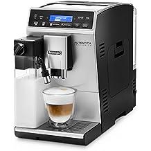 DeLonghi Autentica Cappuccino ETAM29.660.SB - Cafetera super automática con IFD LatteCrema System, pantalla LCD de texto y panel táctil, color plata