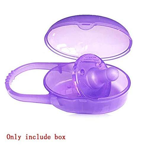 Hiccustomer Schnullerbox Baby Schnuller Aufbewahrungsbox Hygiene Aufbewahrungsbox g