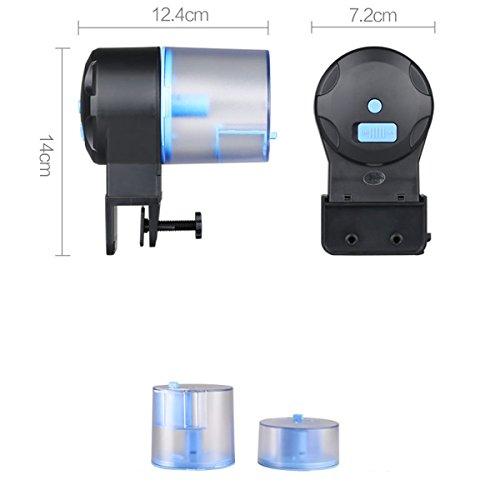 Ueetek alimentateur de poisson automatique quantite for Alimentation automatique aquarium