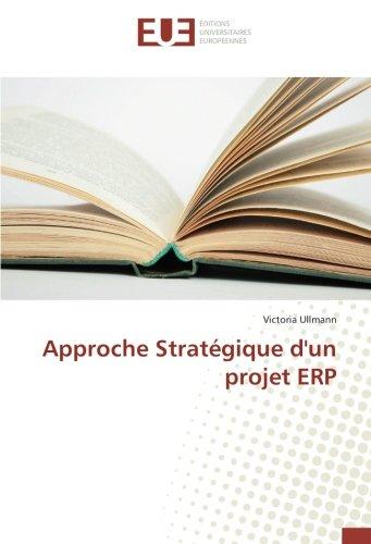 Approche Stratégique D'Un Projet Erp