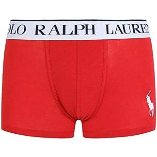 Polo Ralph Lauren Boxer rojo con logotipo