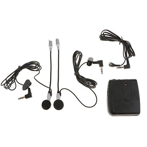 Generic Motorbike Motorcycle Helmet to Helmet Intercom Headset MP3 Input