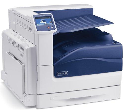 Xerox Phaser 7800 DN - Impresora láser (A3, 1200 x 2400 dpi), Blanco y Azul