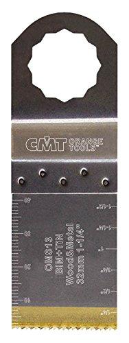 CMT : Lame Titane 32 mm plongeante et de coupe à ras / bois - métaux ( SuperCut Vecturo ) OMS13