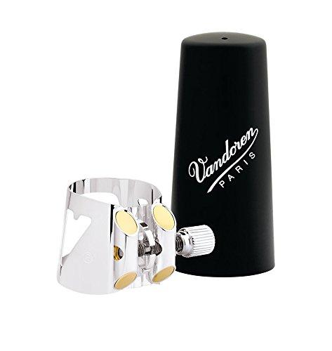 Vandoren LC01P - Abrazadera para clarinete, color plateado