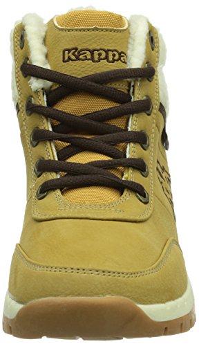 T beige Unisex offwhite Kinder FUR Synthetic Teens BRIGHT Kappa 4143 Sneakers Footwear MID Hohe Beige qAtWB