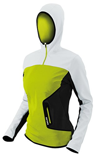 Edelrid kletterbekleidung holly à capuche pour femme Vert - Vert