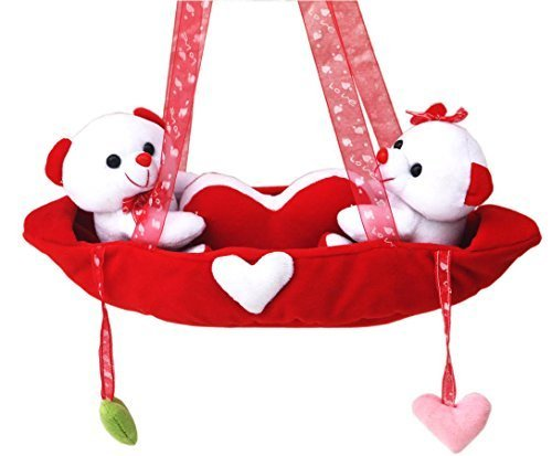 Beautiful Red Teddy Bear in a Love Boat - Teddy Bear for Girls | Girlfriend | Boys | Boyfriend | Birthday Gifts