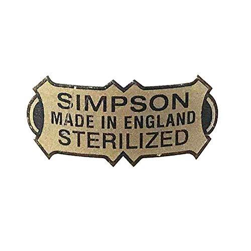 SIMPSONS Sticker Remplacement pour Brosses de Rasage