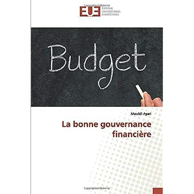 La bonne gouvernance financière