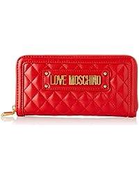 ac56c88d21 Love Moschino Quilted Nappa Pu, Portafoglio Donna, 15x10x15 cm (W x H x