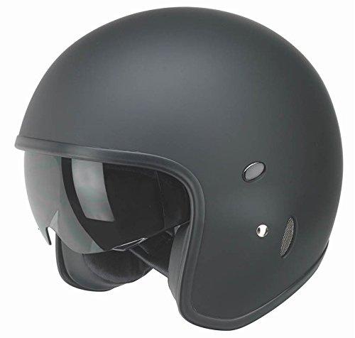 Kochmann Redbike Motorradhelm L schwarz RB 780 Motorrad Roller Helm Visier