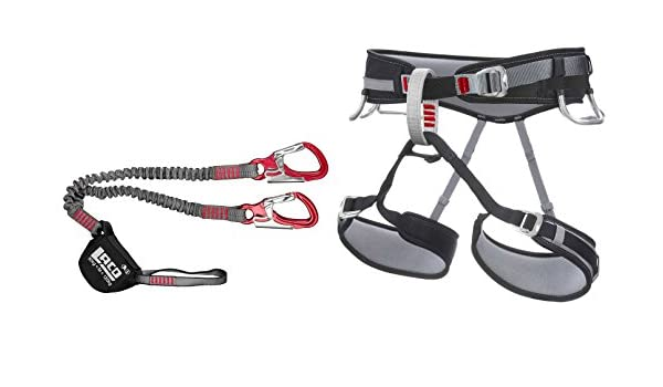 Klettersteig Set Damen : Klettersteigset lacd pro gurt größe m via ferrata set amazon