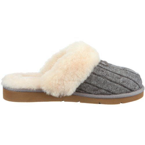 UGG 1865 Cozy Knit, Chaussons femme Gris-TR-SW348
