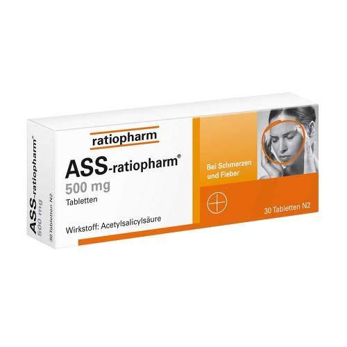ASS-ratiopharm 500mg 30 stk