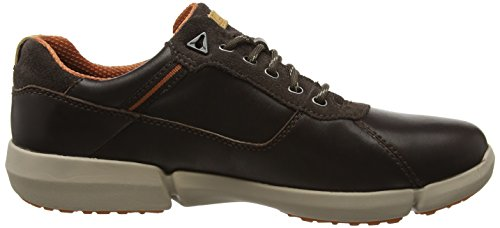 Clarks Herren Triman Lo Gtx Kurzschaft Stiefel Braun (Dark Brown Leather)