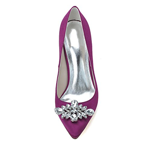 L@YC Tacchi alti Da Donna F0608-05 & Evening Wedding Party Scintillante / Belle Scarpe Con Pompa Piattaforma Strass Bianco