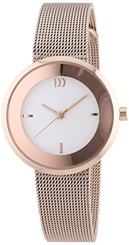 Danish-Design-Womens-Quartz-Watch-3320183-with-Metal-Strap