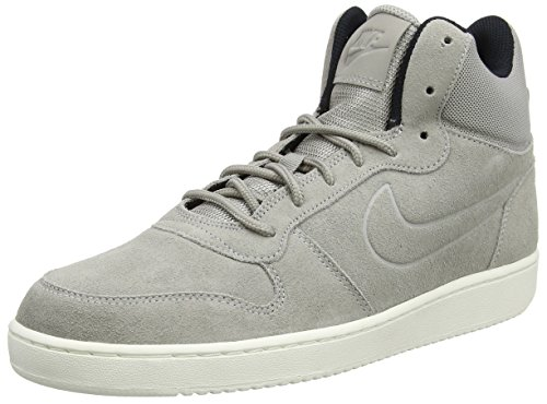 Nike Herren Court Borough Mid Premium Sneaker, Grau (Cobblestone/Cobblestone-Sail-Black), 42.5 EU (Tops High Nike Laufschuhe)