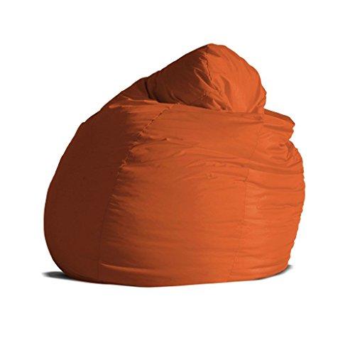 Pouf poltrona sacco grande BAG XXL Jive tessuto tecnico antistrappo arancio  imbottito – Avalon