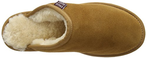 SNUGRUGS - Srusmchest, Pantofole Uomo Brown (Chestnut)