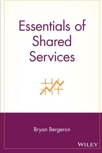 Essentials Shared Services (Essentials Series) por Bergeron