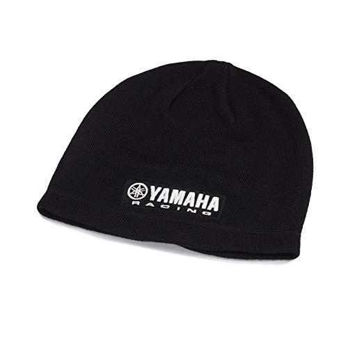 Yamaha MotoGP Racing Paddock Blue 2018 Beanie Mütze - Haube schwarz für Erwachsenen