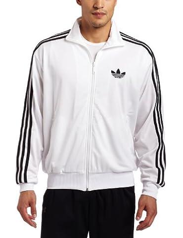 Adidas Firebird Herren Trainingsanzug Medium weiß / schwarz
