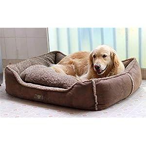 FVCDWSA Hundebett-Haustier-Versorgungsmaterialien, entfernbares und waschbares Four Seasons Universalweiches und bequemes ideales bequemes Bett,XL