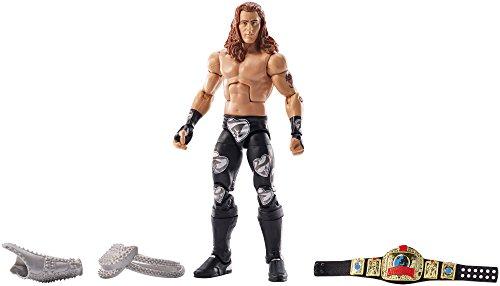 Preisvergleich Produktbild WWE - Elite Collection - Lost Legends - Shawn Michaels - Bewegliche Figur 15 cm + Zubehör