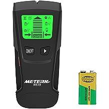 Detector de Pared, Meterk LCD multifuncional localizador digital Madera studs centro buscador de Metal y