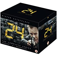 24 Season 1-8 and Redemption DVD