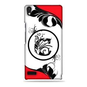 Huawei Ascend P6 printed back cover (3D)
