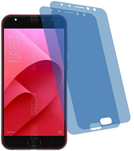 2x Crystal clear klar Schutzfolie für Asus ZenFone 4 Selfie Pro ZD552KL Displayschutzfolie Bildschirmschutzfolie Schutzhülle Displayschutz Displayfolie Folie