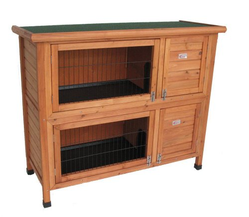 Bunny Business Double Rabbit Hutch (48 inch)