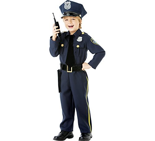 amscan - 999665 - Déguisement Policier - 8-10 Ans